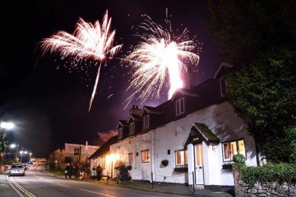 White Horse Inn - Fireworks